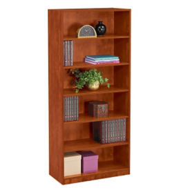 "Six Shelf Bookcase - 71""H, D35619"