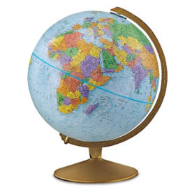 "Desktop Explorer Globe - 12"" Diameter, V21470"