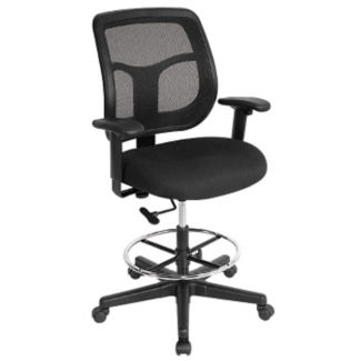 Apollo Mesh Back Drafting Stool, C90323