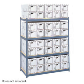 Storage Unit with Wood Shelves, B32227