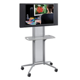 Mobile Flat Panel TV Cart, M13161