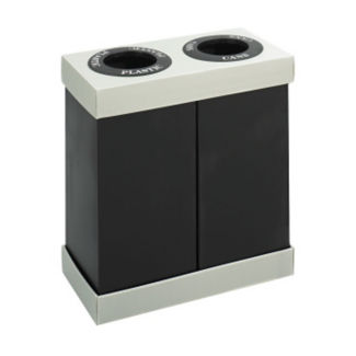 Economical Double Container Recycle Bin, R20164