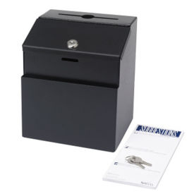 Metal Suggestion Box with Lock, W60503