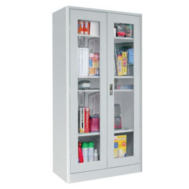 "Radius Edge Clearview Storage Cabinet 18""D, B32137"