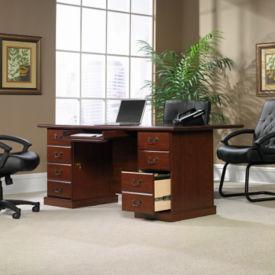 "Traditional Executive Desk - 35.5"" D x 70.5"" W, D30172"