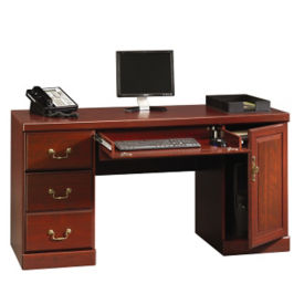 "Traditional Computer Credenza - 20.5"" D x 59"" W, D35131"