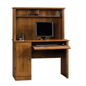 Harvest Mill Computer Desk with Hutch, D30150