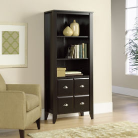 Shoal Creek Bookcase with Doors, B34265