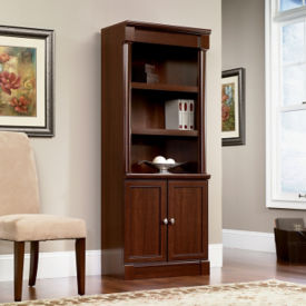 Palladia Bookcase with Doors, B34293
