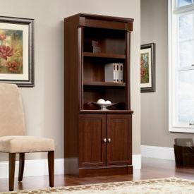 Palladia Bookcase with Doors, B34293