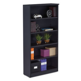 "Five Shelf Bookcase - 35.27""W, B23474"