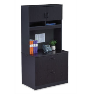 Locking Lateral File with Soft-Close Hutch, L40833