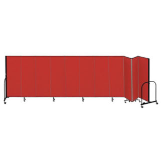 "11 Panel Partition 20'5""wx5'h, F40910"
