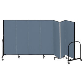 "7 Panel Partition 13'1""w x 6'h, F40913"