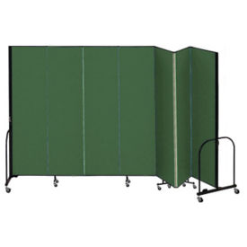 "7 Panel Partition 13'1""w x 6'8""h, F40918"