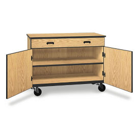 "Single Drawer Mobile Storage Cabinet - 36""H, B30629"