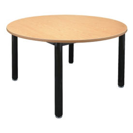 "48"" Round Library Table, T11217"