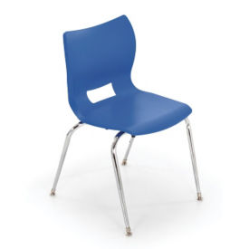 "Poly Shell Stack Chair 16""H, C70441"