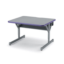 "Adjustable Height Computer Table 36"" x 30"", E10212"