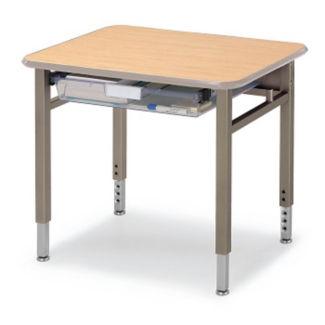 "Planner Student Desk 27""W x 24""D, J10076"
