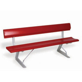 Portable Aluminum Bench 8' Long, V21883