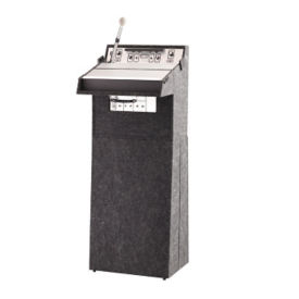 Portable Floor Lectern Sound System, M10393