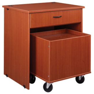 "Book Return with Drawer 40""H, B30493"