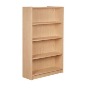 "Single Faced Shelving Starter, 4 Shelves, 61"" H, B34312"