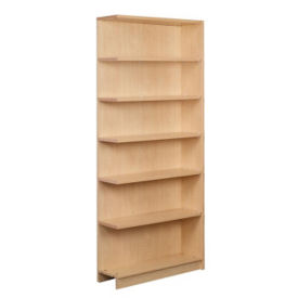 "Single Faced Shelving Adder, 6 Shelves, 84"" H, B34317"