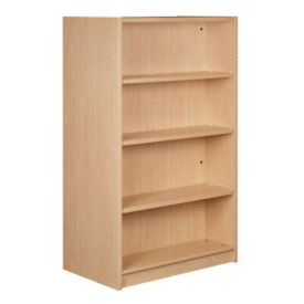 "Double Faced Shelving Starter, 4 Shelves, 61"" H, B34332"