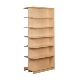 "Double Faced Shelving Adder, 6 Shelves, 84""H, B34338"