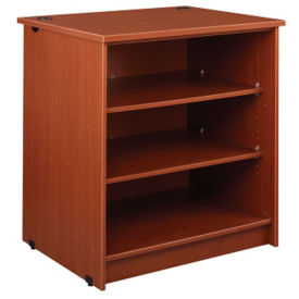 "Circulation Desk Open Shelf Module 40""H, B34350"