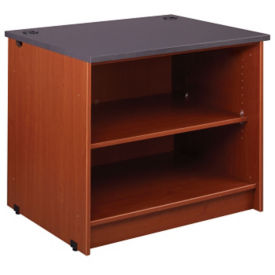 "Circulation Desk Open Shelf Module 30""H, B34358"