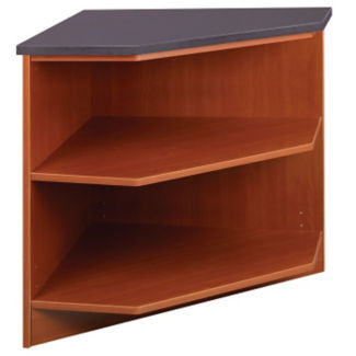 "Circulation Desk Corner Shelf Module 30""H, B34365"
