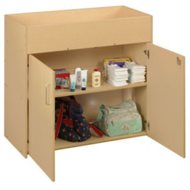Infant Changing Table with Lockable Doors, P30284