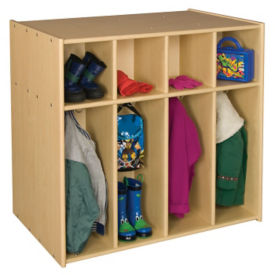 Double Sided Toddler Locker 8 Sections, P30288
