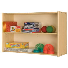 "Open Divided Wall Storage 24""H, P30292"