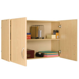 "Wall Storage Unit with Doors 24""H, P30293"
