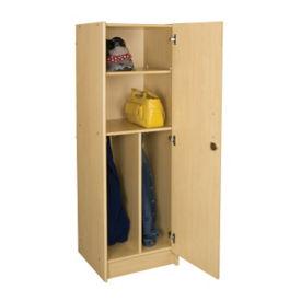 """Teacher Wardrobe with Right Hinge Door 59""""H, P30303"""