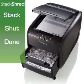Stacking Cross Cut Paper Shredder - 4 Gallon, V20070