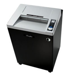 Heavy Duty Strip Cut Paper Shredder - 44 Gallons, V21841