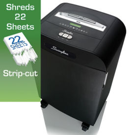 Departmental Strip Cut Paper Shredder - 19 Gallons, V21850