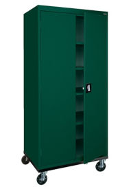 "Mobile Storage Cabinet 78"" High x 36"" Wide, D31135"