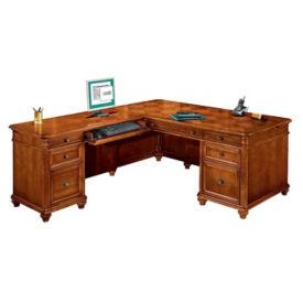 Executive L-Desk with Left Return, L40392