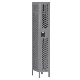 Single-Tier Ventilated Locker, B30404