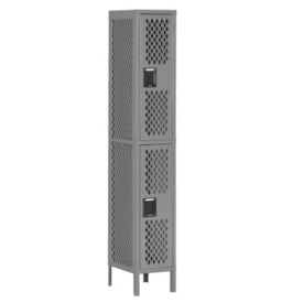 Double-Tier Ventilated Locker, B30406