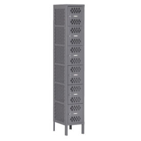 Six-Tier Ventilated Box Locker, B30408