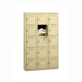Triple Tier Box Locker 15 Openings, B30462