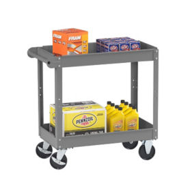 "Utility Cart with 2 Trays 36"" x 24"", B34252"
