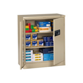 "Storage Cabinet with Keypad Lock 42""H 18""D, B34288"
